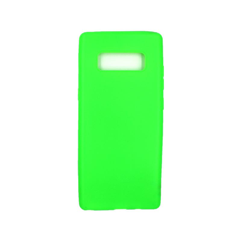 Θήκη Samsung Galaxy Note 8 σιλικόνη neon πράσινο