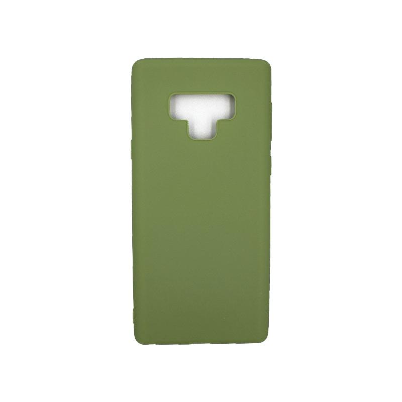 Θήκη Samsung Galaxy Note 9 σιλικόνη πράσινο