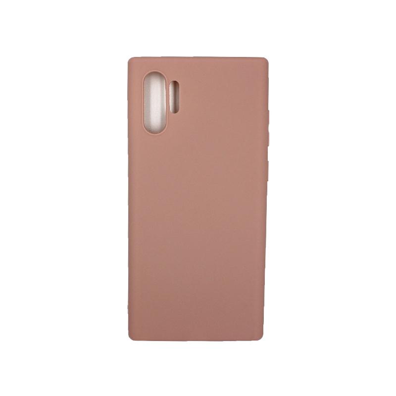 Θήκη Samsung Galaxy Note 10 Plus Σιλικόνη καφέ