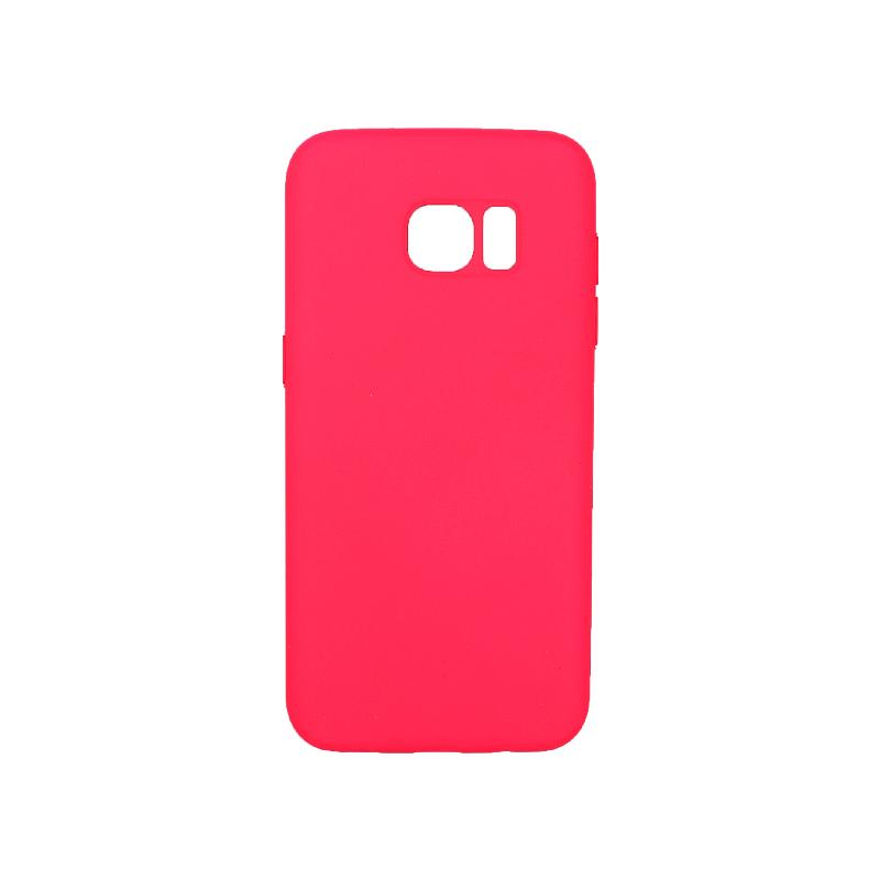 Θήκη Samsung Galaxy S7 Edge Silky and Soft Touch Silicone φουξ 1