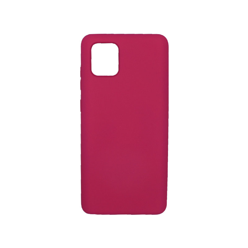 Θήκη Samsung Galaxy Note 10 Lite / A81 Silky and Soft Touch Silicone φουξ 1