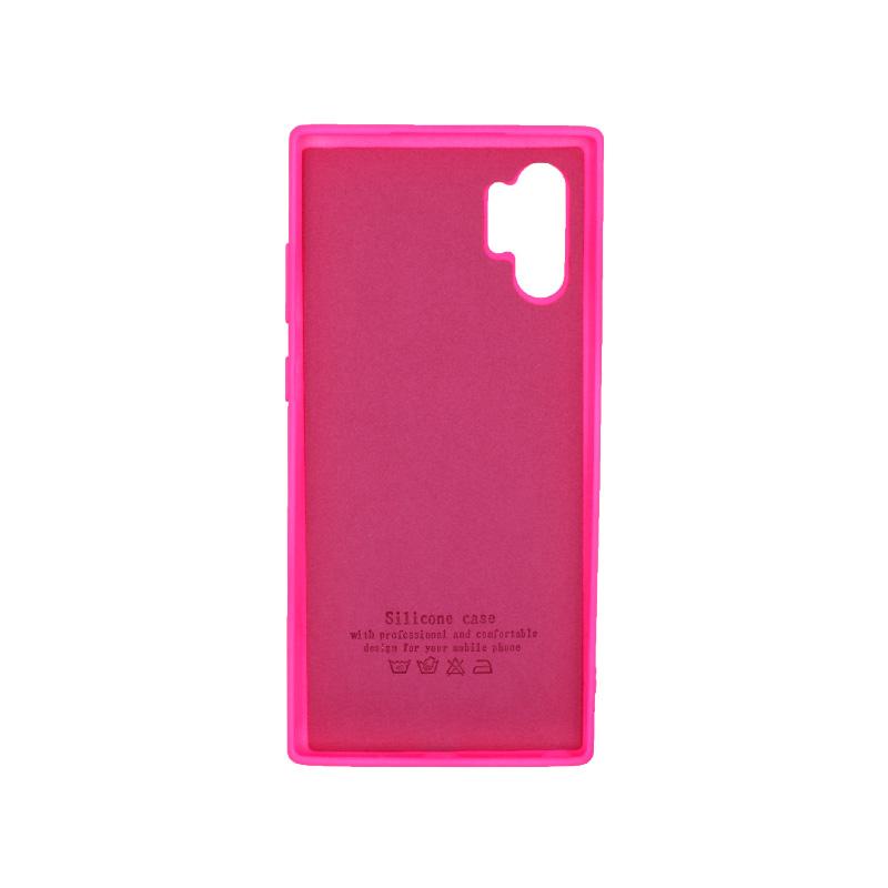 Θήκη Samsung Galaxy Note 10 Plus Silky and Soft Touch Silicone φουξ 2