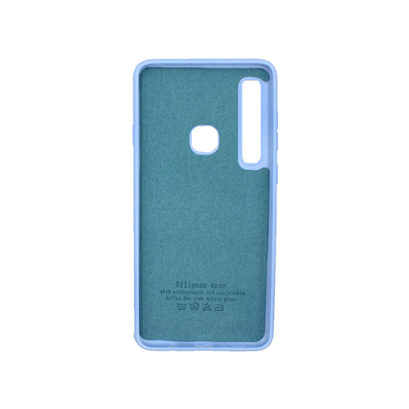 Θήκη Samsung Galaxy A9 2018 Silky and Soft Touch Silicone γαλάζιο 2