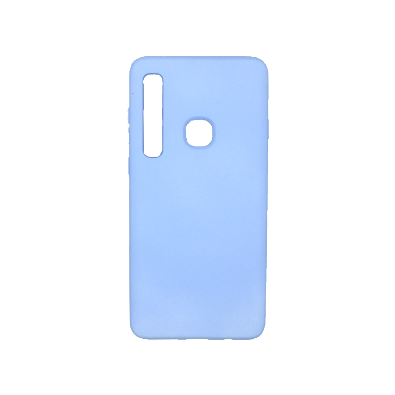 Θήκη Samsung Galaxy A9 2018 Silky and Soft Touch Silicone γαλάζιο 1