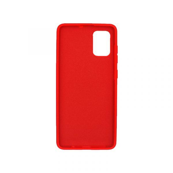 Θήκη Samsung A51 Silky and Soft Touch Silicone κόκκινο 2