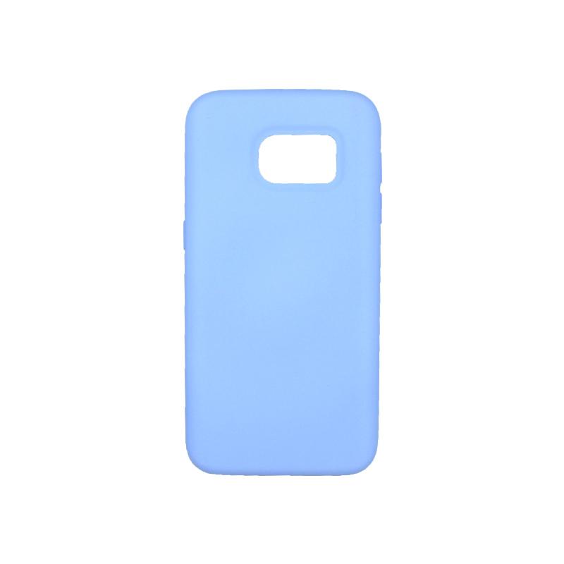 Θήκη Samsung Galaxy S7 Silky and Soft Touch Silicone λιλά 1