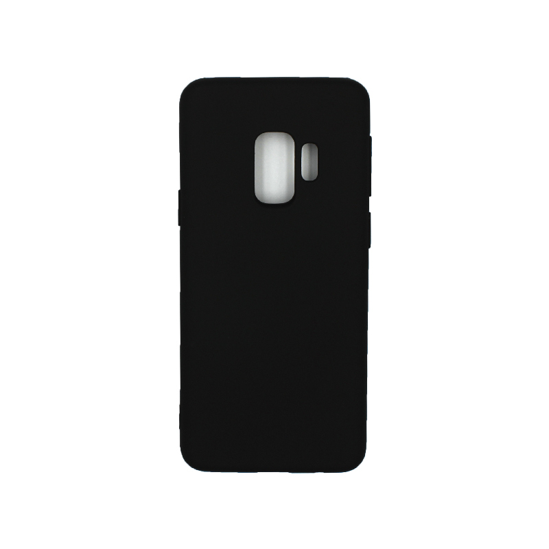 Θήκη Samsung Galaxy S9 Silky and Soft Touch Silicone μαύρο 1