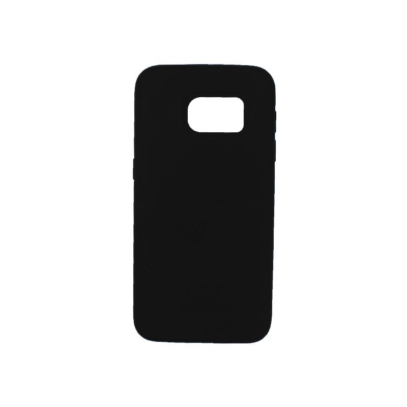 Θήκη Samsung Galaxy S7 Silky and Soft Touch Silicone μαύρο 1