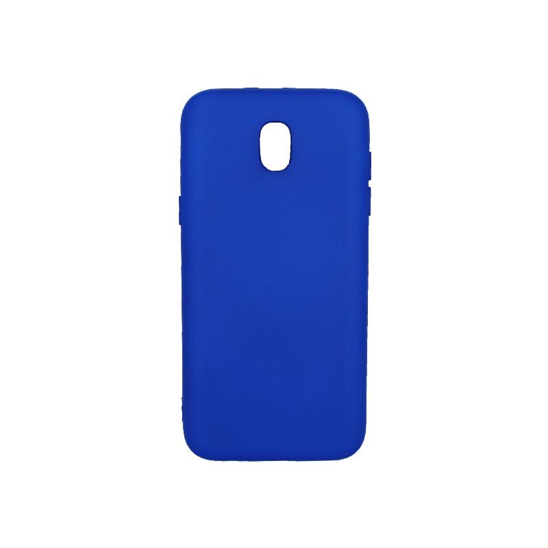 Θήκη Samsung Galaxy J5 2017 Silky and Soft Touch Silicone μπλε 1