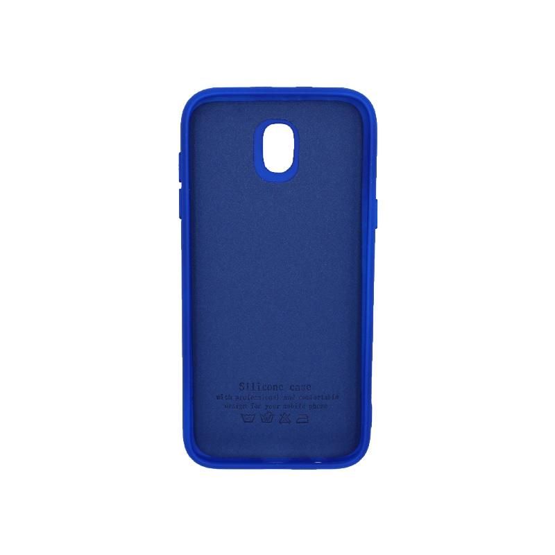Θήκη Samsung Galaxy J5 2017 Silky and Soft Touch Silicone μπλε 2