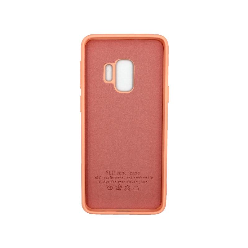 Θήκη Samsung Galaxy S9 Silky and Soft Touch Silicone πορτοκαλί 2