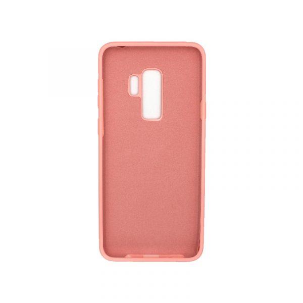 Θήκη Samsung Galaxy S9 Plus Silky and Soft Touch Silicone ροζ 2