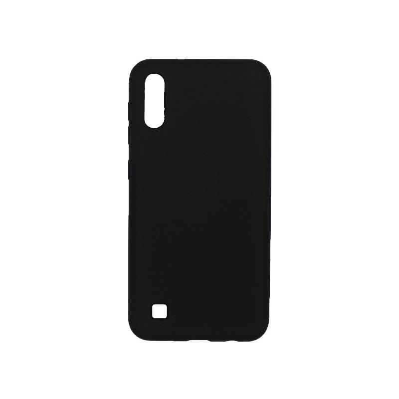 Θήκη Samsung Galaxy A10 / M10 Silky and Soft Touch Silicone μαύρο 1