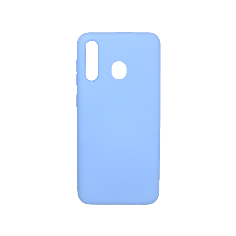 Θήκη Samsung Galaxy A20 / Α30 Silky and Soft Touch Silicone γαλάζιο 1