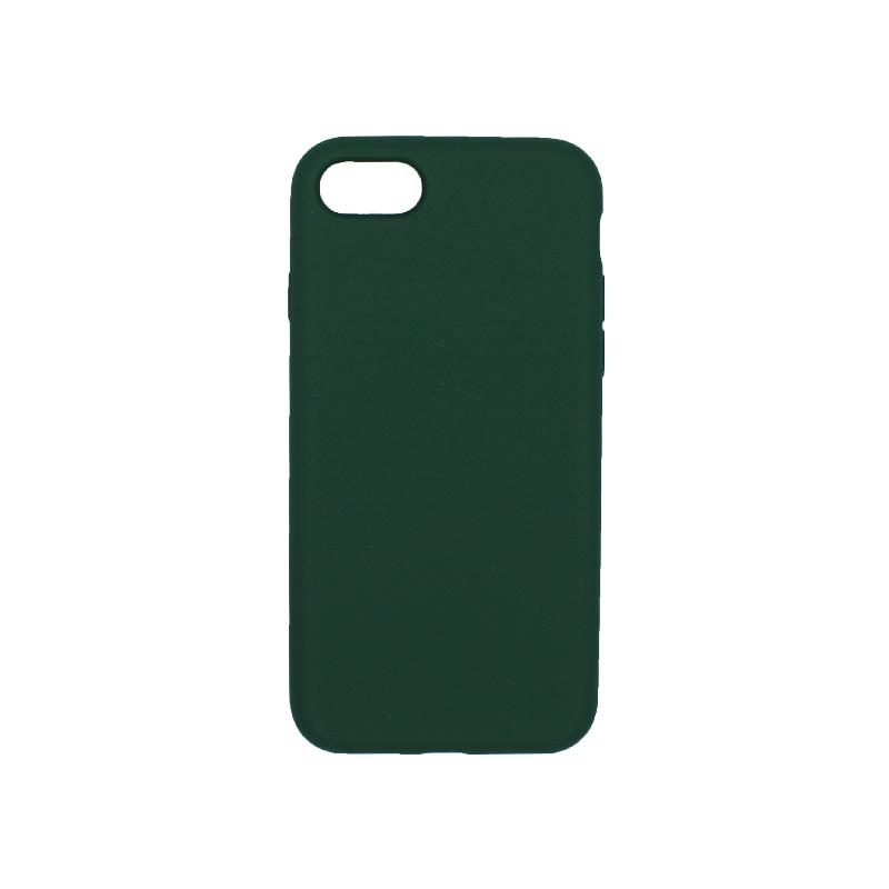 θήκη iPhone 7 / 8 silky and soft touch σιλικόνη πράσινο πίσω