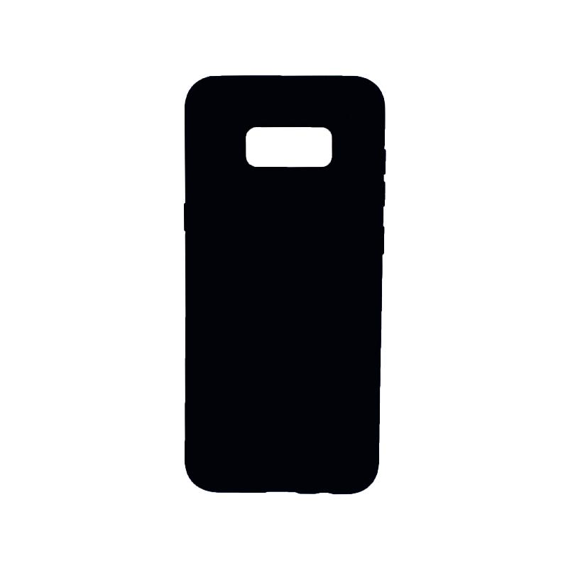 Θήκη Samsung Galaxy S8 Plus Silky and Soft Touch Silicone σκούρο μπλε 1