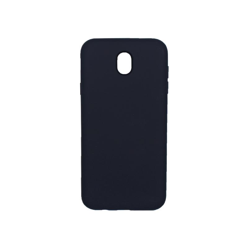 Θήκη Samsung Galaxy J7 2017 Silky and Soft Touch Silicone μπλε 1