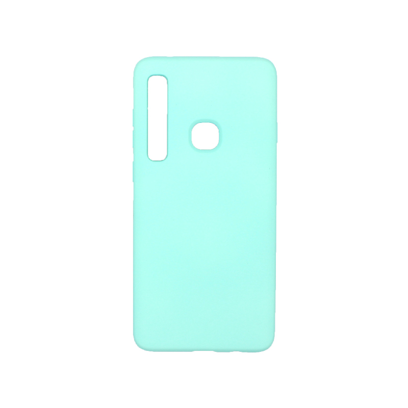 Θήκη Samsung Galaxy A9 2018 Silky and Soft Touch Silicone τιρκουάζ 1