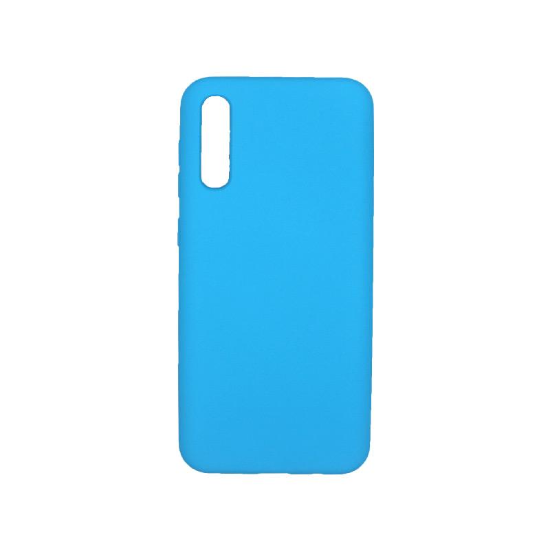 Θήκη Samsung A50 / A30S / A50S Silky and Soft Touch Silicone γαλάζιο 1
