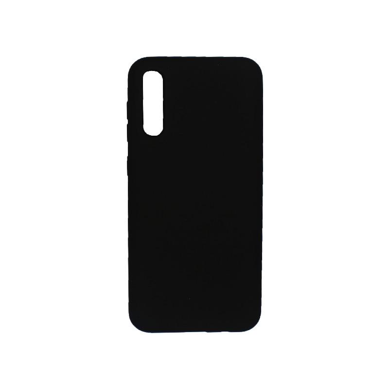 Θήκη Samsung A50 / A30S / A50S Silky and Soft Touch Silicone μαύρο 1