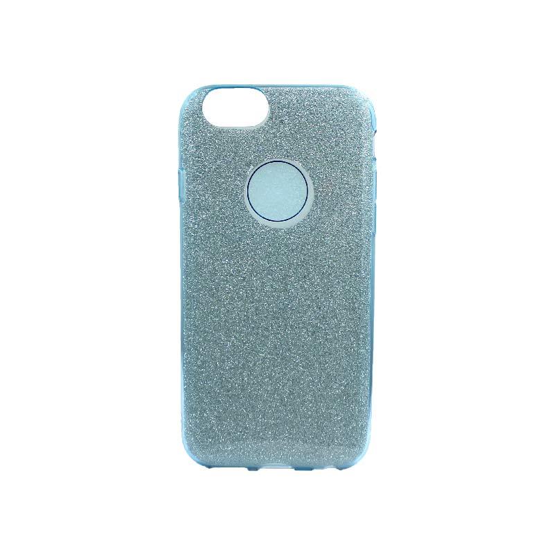 θήκη iphone 6 - 6s glitter γαλάζιο