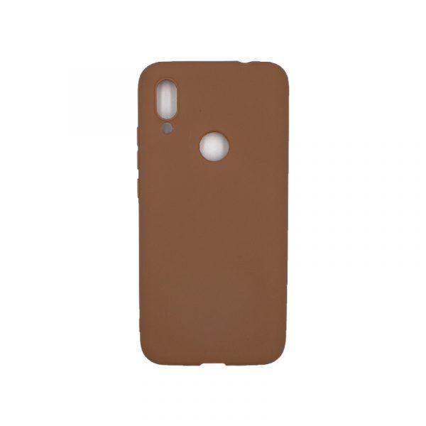 Θήκη Xiaomi Redmi 7 Σιλικόνη καφέ