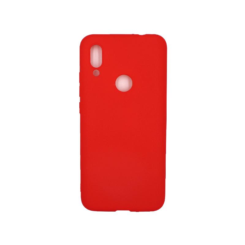Θήκη Xiaomi Redmi 7 Σιλικόνη κόκκινο