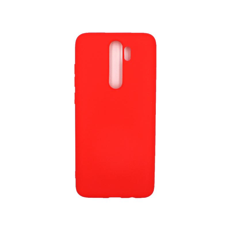 Θήκη Xiaomi Redmi Note 8 Pro Σιλικόνη κόκκινο