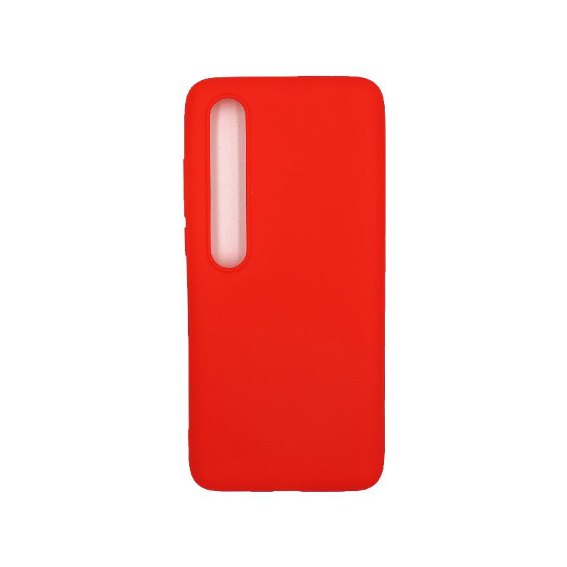 Θήκη Xiaomi Mi 10 / Mi 10 Pro Σιλικόνη κόκκινο
