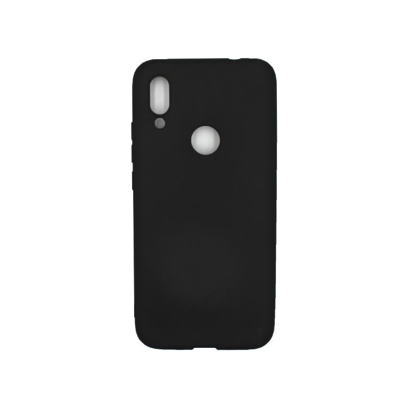 Θήκη Xiaomi Redmi 7 Σιλικόνη μαύρο