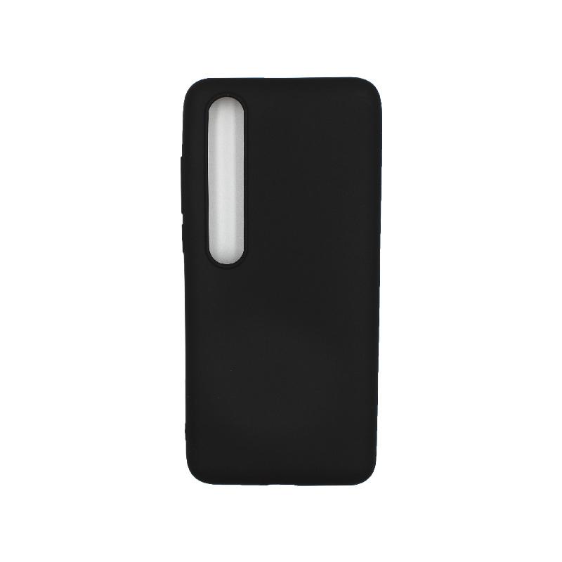 Θήκη Xiaomi Mi 10 / Mi 10 Pro Σιλικόνη μαύρο