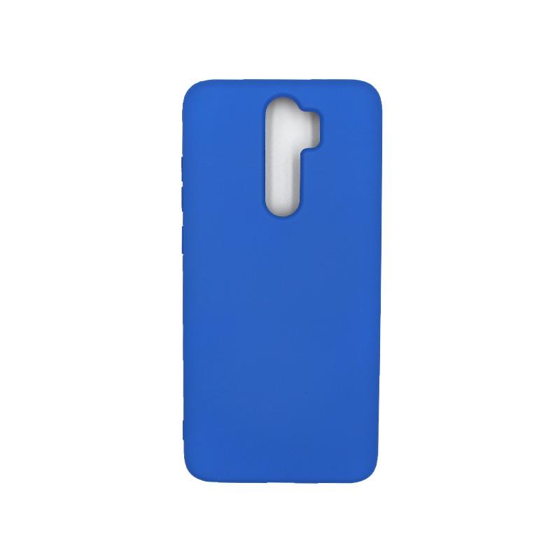 Θήκη Xiaomi Redmi Note 8 Pro Silky and Soft Touch Silicone μπλε 1