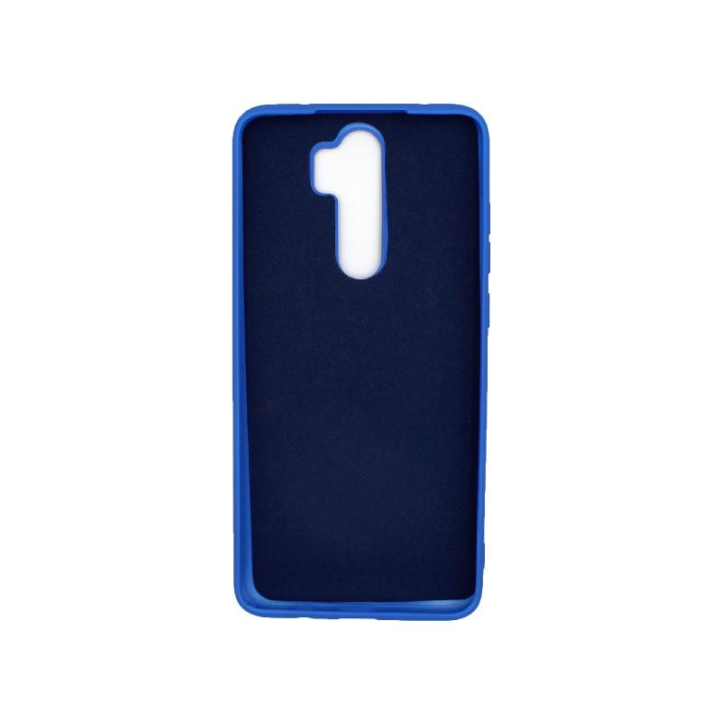 Θήκη Xiaomi Redmi Note 8 Pro Silky and Soft Touch Silicone μπλε 2