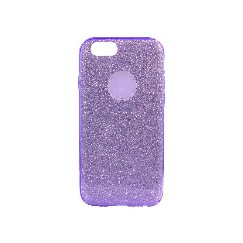 θήκη iphone 6 - 6s glitter μωβ