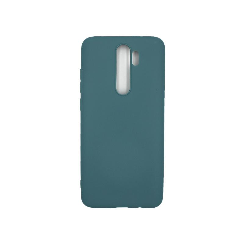 Θήκη Xiaomi Redmi Note 8 Pro Σιλικόνη πετρόλ