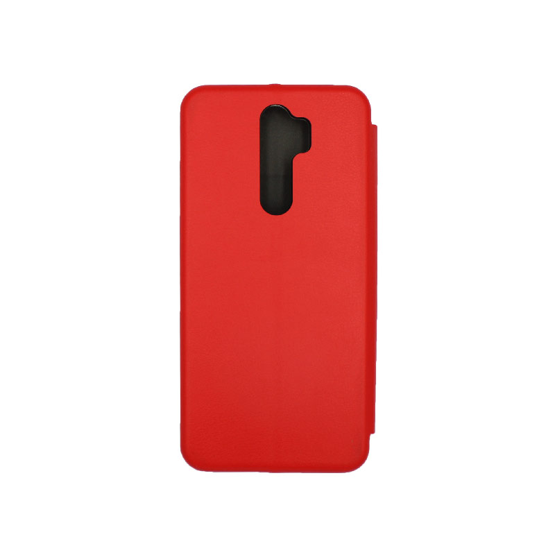 Θήκη Xiaomi Redmi Note 8 Pro Πορτοφόλι με Μαγνητικό Κλείσιμο κόκκινη 2