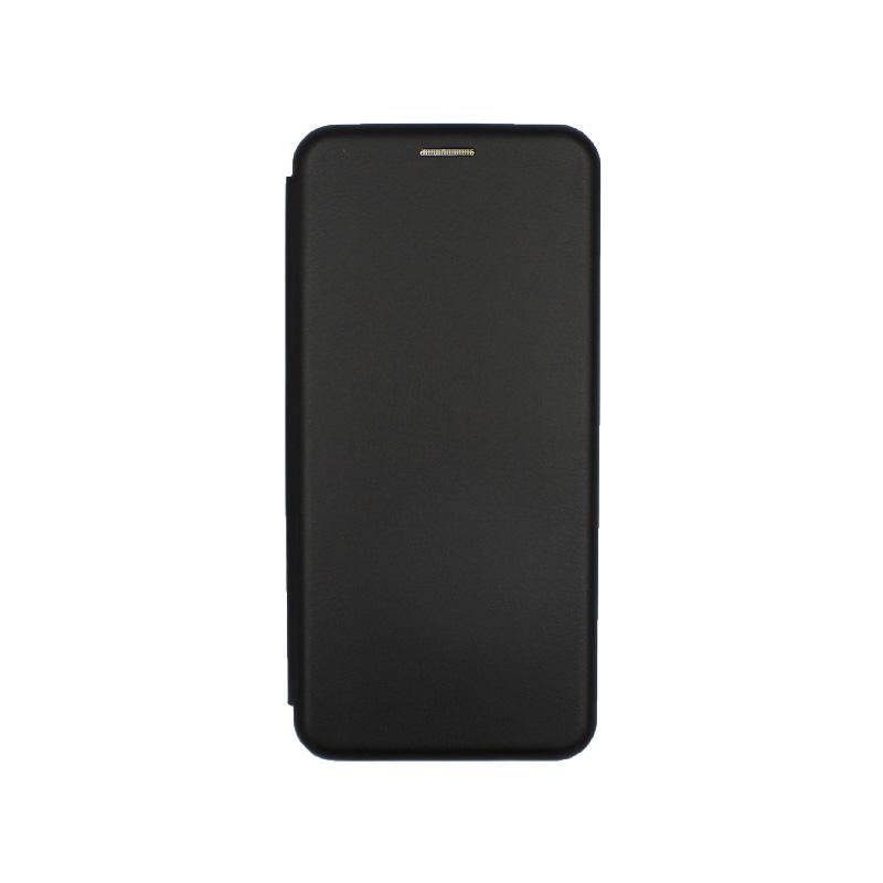 Θήκη Xiaomi Redmi Note 8 Pro Πορτοφόλι με Μαγνητικό Κλείσιμο μαύρο 1