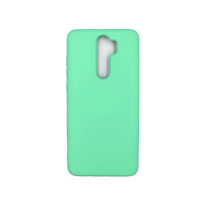 Θήκη Xiaomi Redmi Note 8 Pro Silky and Soft Touch Silicone πράσινο 1
