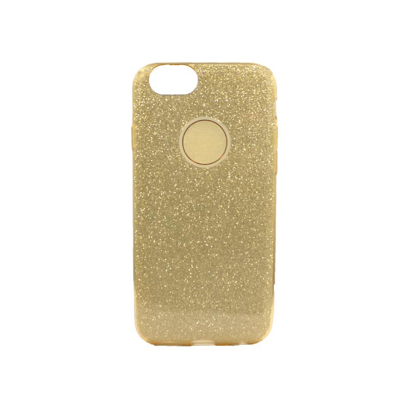 θήκη iphone 6 - 6s glitter χρυσό