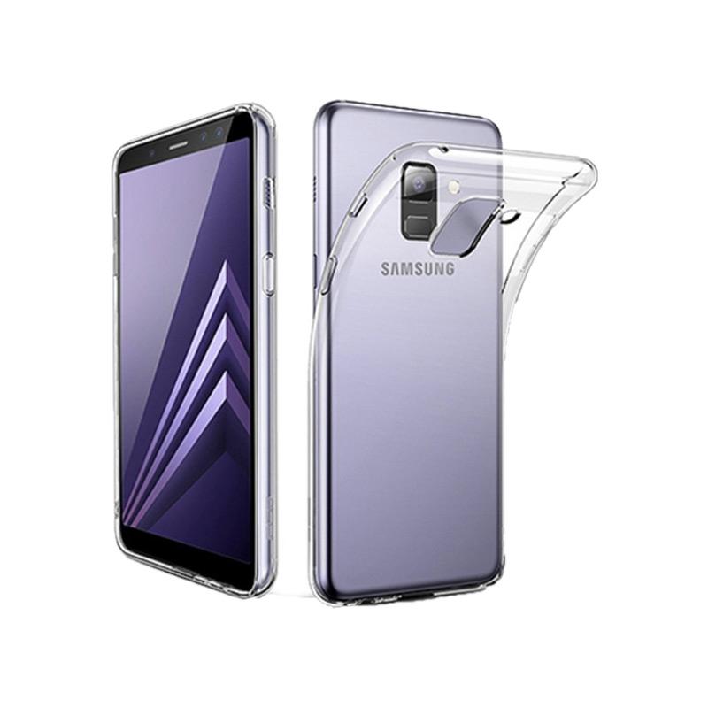 Θήκη Σιλικόνης 0.3mm Διάφανο Samsung A8 / A5 2018