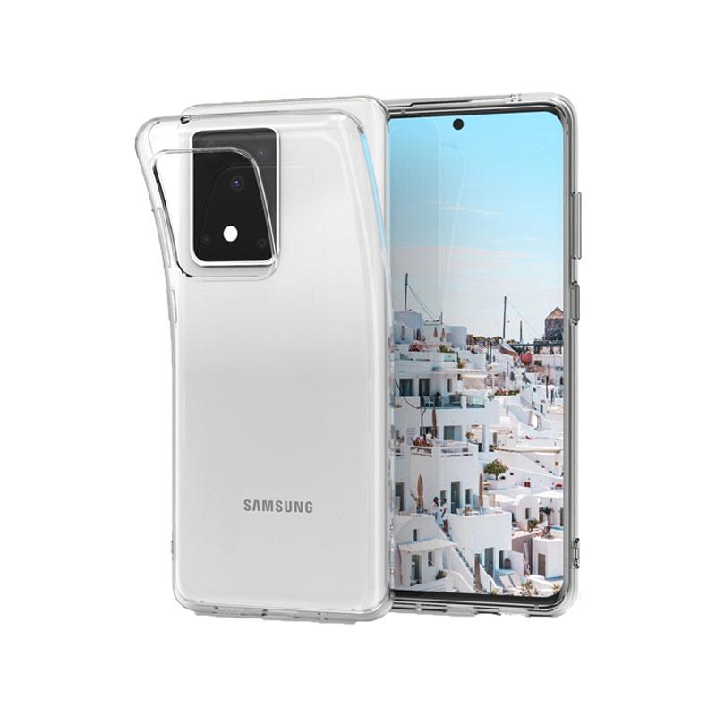 Θήκη Σιλικόνης 0.3mm Διάφανο Samsung S20 Ultra