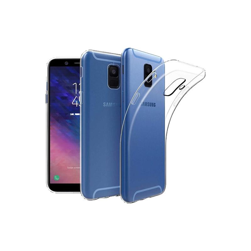 Θήκη Σιλικόνης 0.3mm Διάφανο Samsung Galaxy A6 Plus / J8 2018
