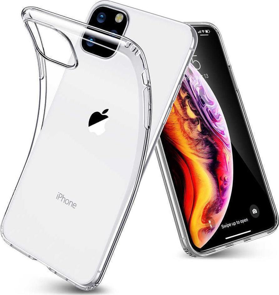 Θήκη Σιλικόνης 0.3mm Διάφανο Iphone 11 Pro Max Διαφημιστικό