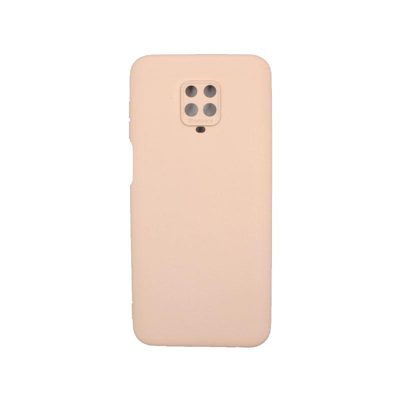Θήκη Xiaomi Redmi Note 9S / Note 9 Pro / Note 9 Pro Max Silky and Soft Touch Silicone μπεζ 1