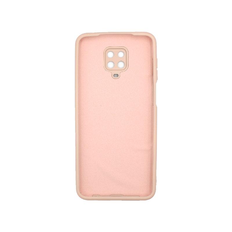 Θήκη Xiaomi Redmi Note 9S / Note 9 Pro / Note 9 Pro Max Silky and Soft Touch Silicone μπεζ 2