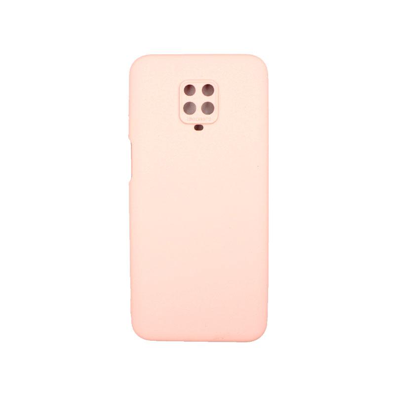 Θήκη Xiaomi Redmi Note 9S / Note 9 Pro / Note 9 Pro Max Silky and Soft Touch Siliconee ροζ 1
