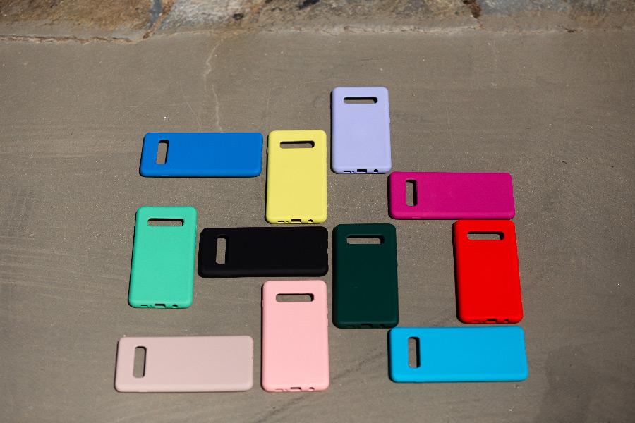 Θήκη Samsung Galaxy S10 Plus Silky and Soft Touch Silicone διαφημιστικό