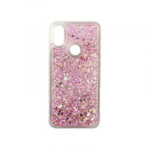Θήκη Xiaomi Redmi S2 Liquid Glitter απαλό ροζ 1