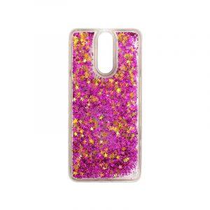 Θήκη Huawei Mate 10 Lite Liquid Glitter φουξ 1