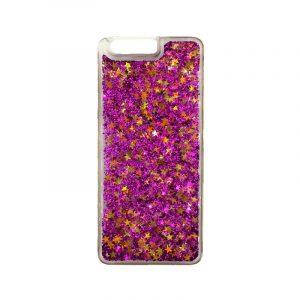 Θήκη Huawei P10 Liquid Glitter φουξ 1